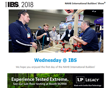 IBS Show Daily Email